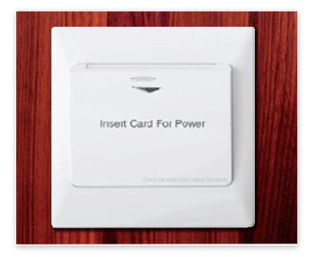 Hotel Room Key Card System