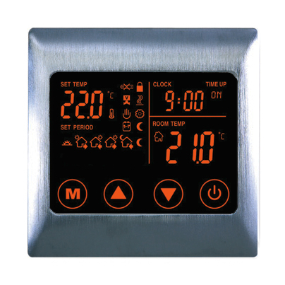 Boutique Underfloor Heating Electric Touch Thermostat  V2 16A - HV2000L8 Satin