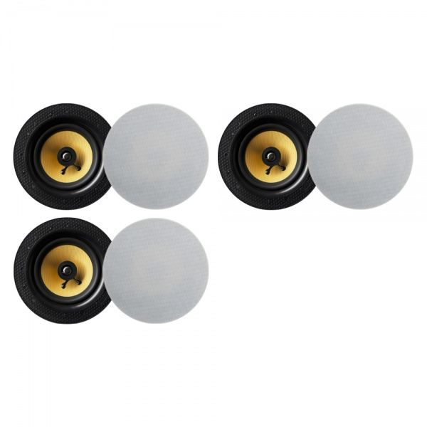 Lithe Audio Bluetooth Wireless 6.5'' Ceiling Speaker (3 Master And 3 Passives)