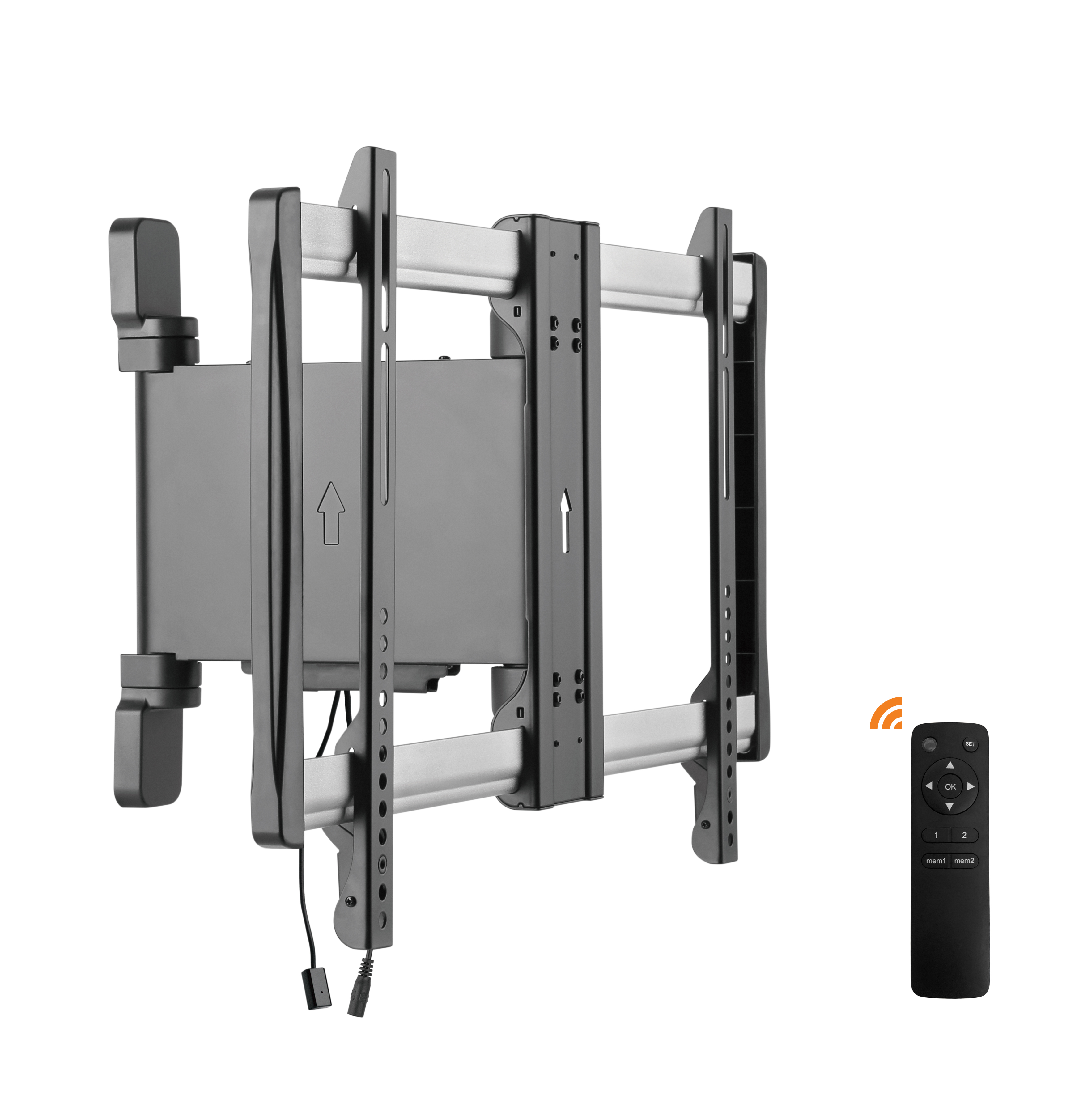 remote control motorized wall mount 32 60 retrotouch designer light switches plug sockets. Black Bedroom Furniture Sets. Home Design Ideas