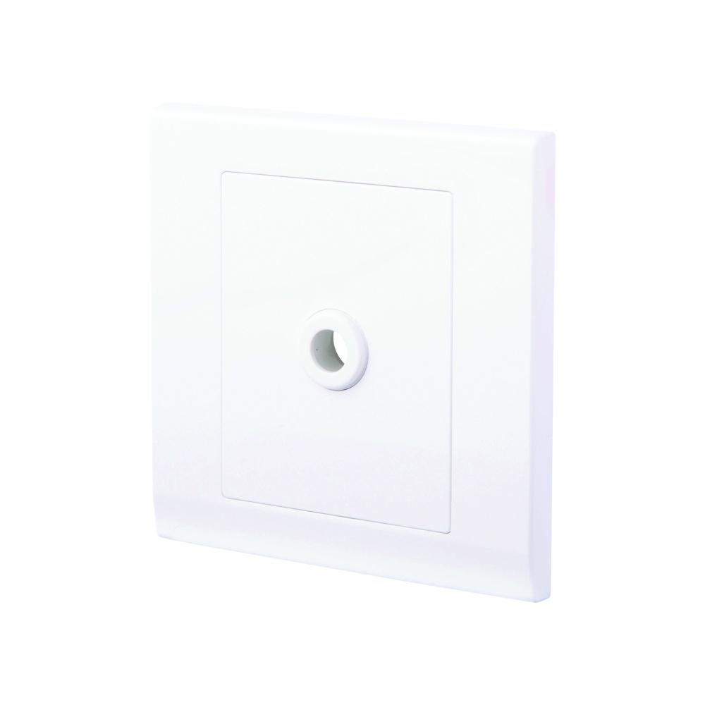 Simplicity 25a Connection Unit Flex Outlet White Retrotouch Wiring Black