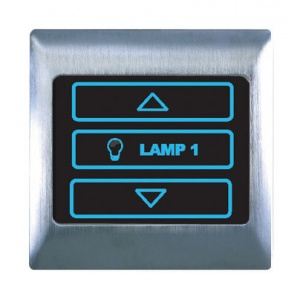 Boutique Metal Dimmer Touch & Remote Switch 1 Gang 400W