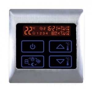 Boutique Underfloor Heating Electric Touch Thermostat 16A - HV2000 Satin