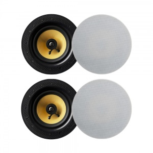 Lithe Audio Bluetooth Wireless 6.5'' Ceiling Speaker (2 Masters And 2 Passives)