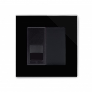 Crystal PG Telephone BT Master Socket Black