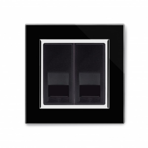 Crystal CT BT Master/BT Slave Telephone Socket Black