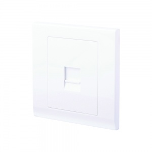 Simplicity Single BT Master Telephone Socket White