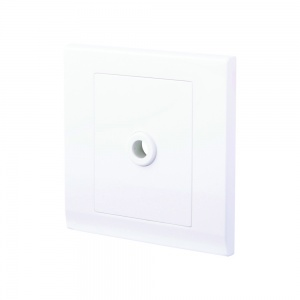 Simplicity 25A Connection Unit Flex Outlet White