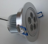LED Downlight Fitting 5x1W 108mm dia