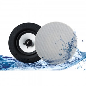 Lithe Audio Bluetooth IP44 Rated Wireless 6.5'' Ceiling Speaker (PAIR)