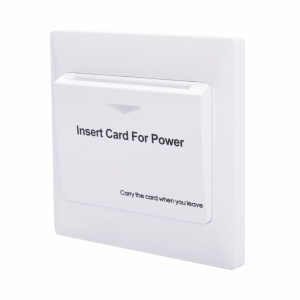 Energy Key Card Saver - White