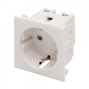 RT 16A Socket (25mmx50mm) White