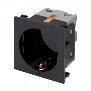 RT 16A Socket (25mmx50mm) Black