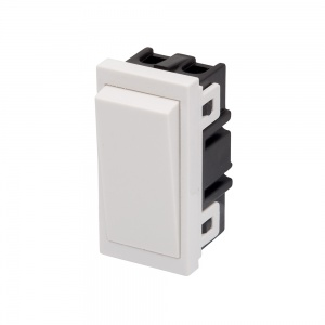 RT 20A DP Switch (25mm x 50mm) White