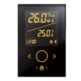 Boiler Heating Touch Thermostat switch V3 5A Black