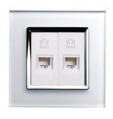 RTS2000 RJ11 TELEPHONE Socket White