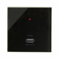 RTS2000 USB Charger Socket Black