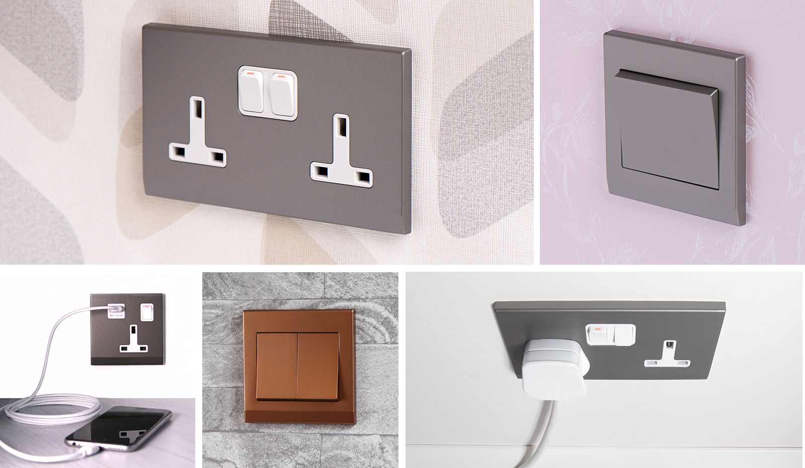 Simplicity - RetroTouch Designer Light Switches & Plug Sockets