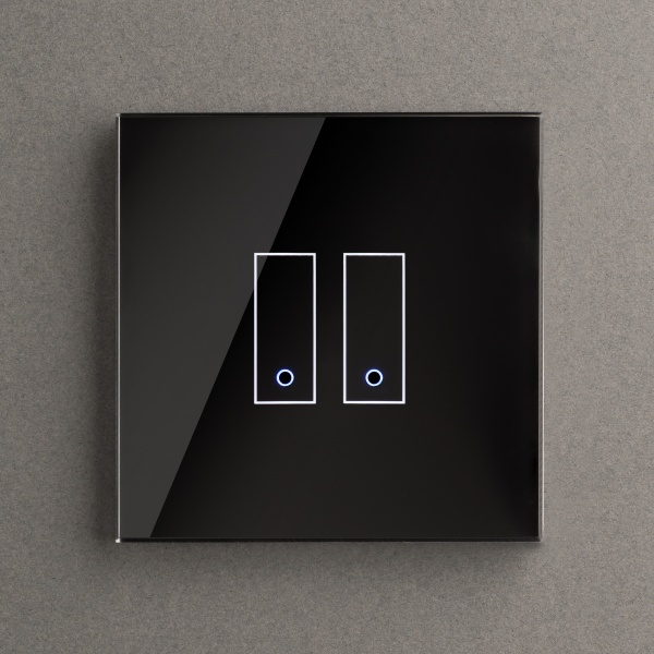 Retrotouch iotty WiFi Smart Switch 2G Black UK