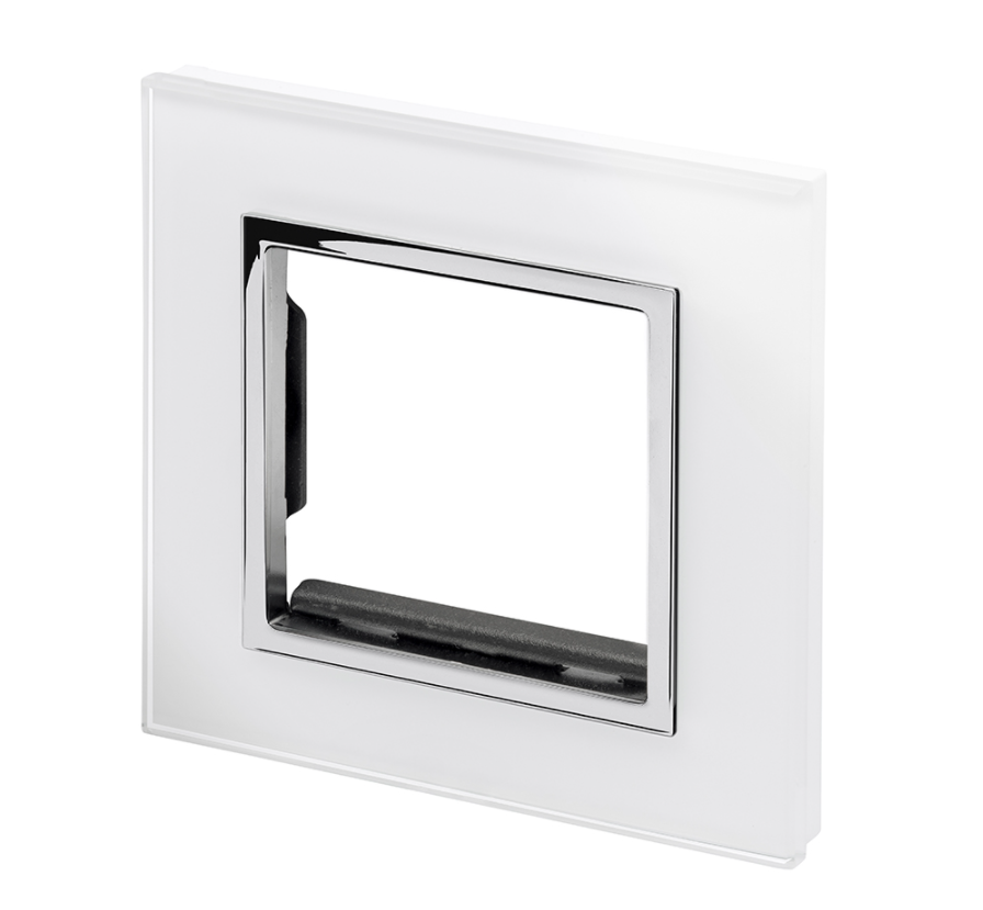 Spare Panel for Crystal PG Single socket White