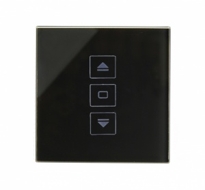 Crystal PG Touch Shutter Switch Black