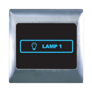 Boutique Metal Touch & Remote Light Switch 1 Gang