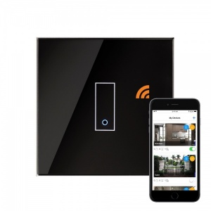 Retrotouch iotty WiFi Smart Switch 1G Black UK