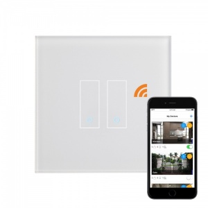 Retrotouch iotty WiFi Smart Switch 2G White UK