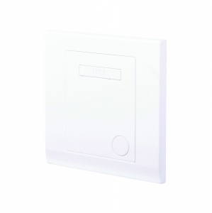 Simplicity 13A Unswitched Fused Connection Unit White