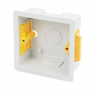 Single Dry Lining back box 35mm depth