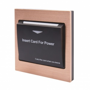 Energy Key Card Saver - Copper Metal
