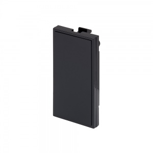 RT Blank Plate (25mmx50mm) Black