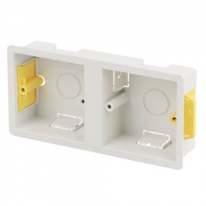 Dual Double Dry Lining back box 35mm depth